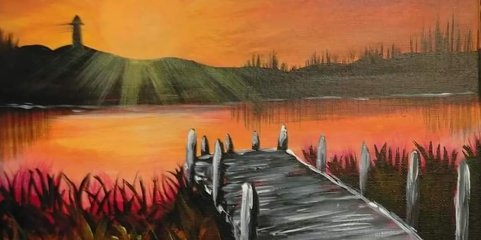 PROCEEDING - REDBANK PLAINS - ARIZONA CAFE - Learn to paint 'Wharf'