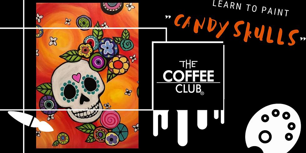 Let's Paint 'Candy Skulls'