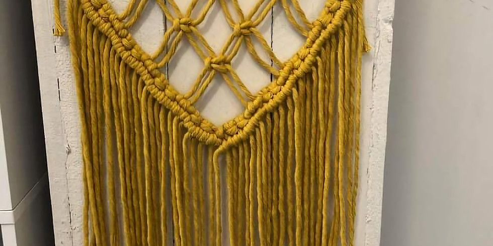 POSTPONED | REBOOKED FOR 13/03 - SPRINGFIELD - a macrame wall hanging