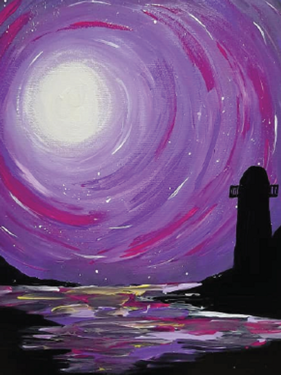 Learn to paint Lighthouse 'Paint at home Pack'