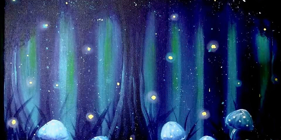 WACOL - Wolston Farm House - Learn to paint enchanted forest