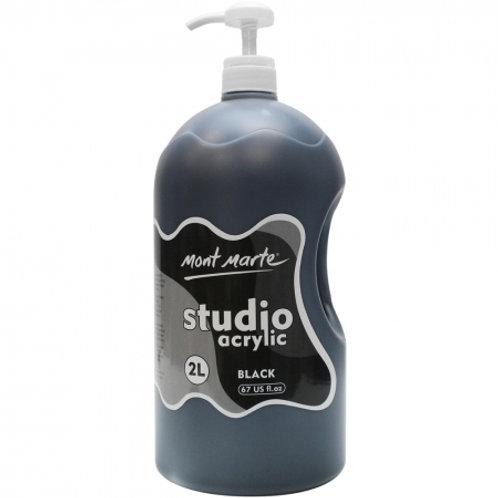 Acrylic 2L Pump - Black