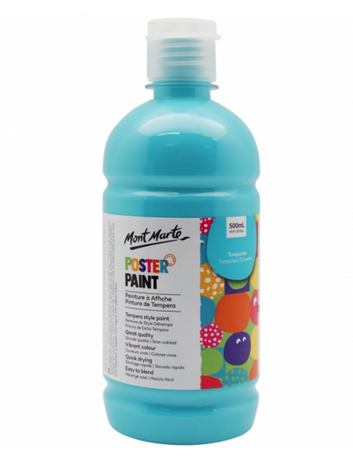 Poster Paint 500ml - Turquoise