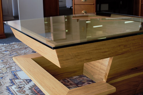 Stacked Square Coffee Table