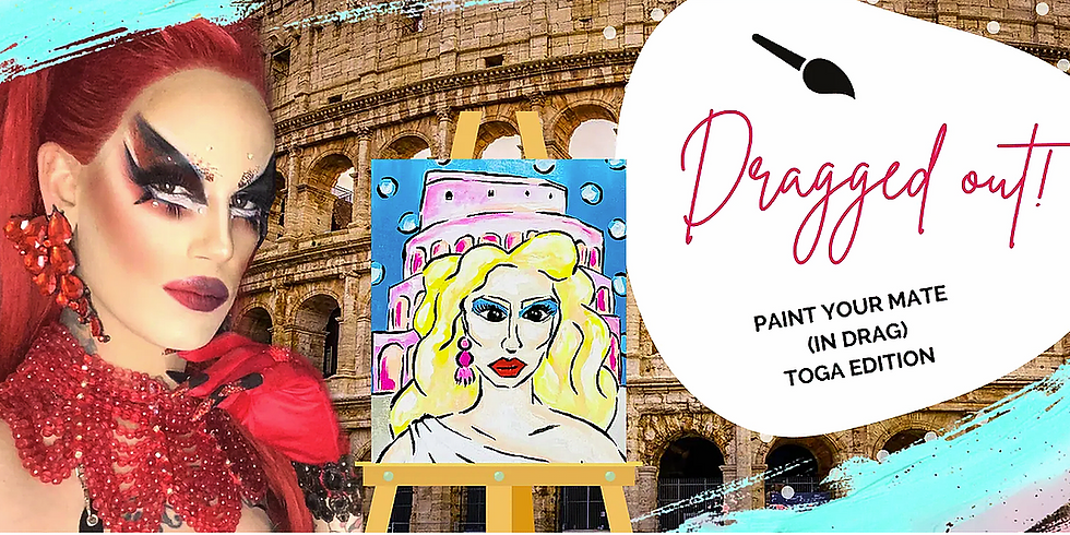 NORTHLAKES - COFFEE CLUB - 'DRAGGED OUT' Sip 'n' Paint Toga Party Edition