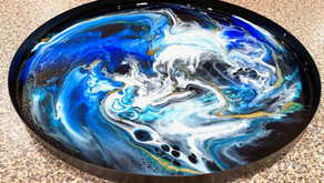 5 quick ways you can remove bubbles from your resin work (without torching it)