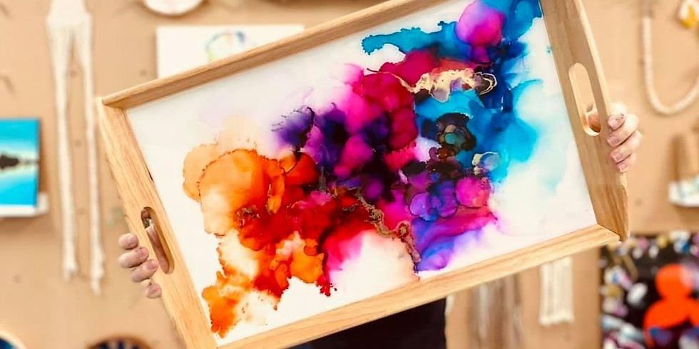 SPRINGFIELD - ORION - Make your own alcohol ink tray (with a take home DIY pack)