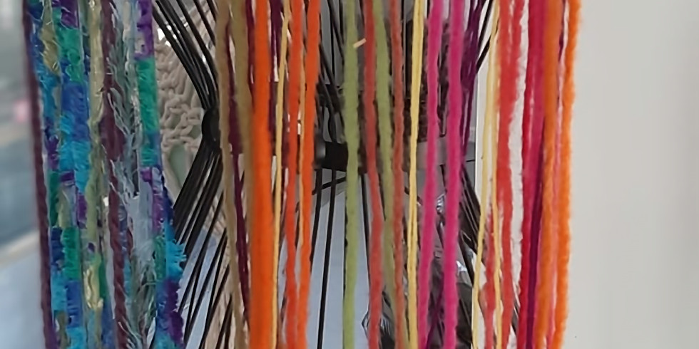 All Ages School Holiday Workshop - Learn to make a abstract dreamcatcher