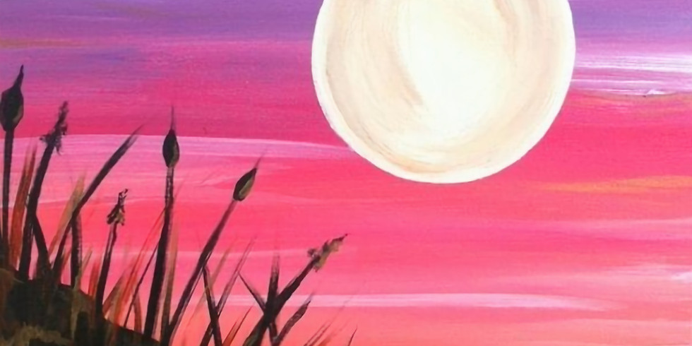 Let's paint at BrisStyle 'Caloundra Sunset'