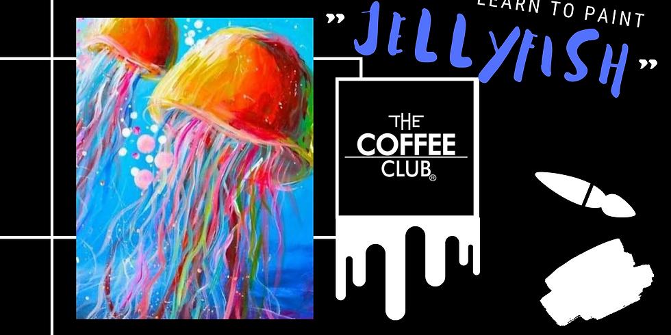 Sip 'n' Paint - 'Jellyfish'