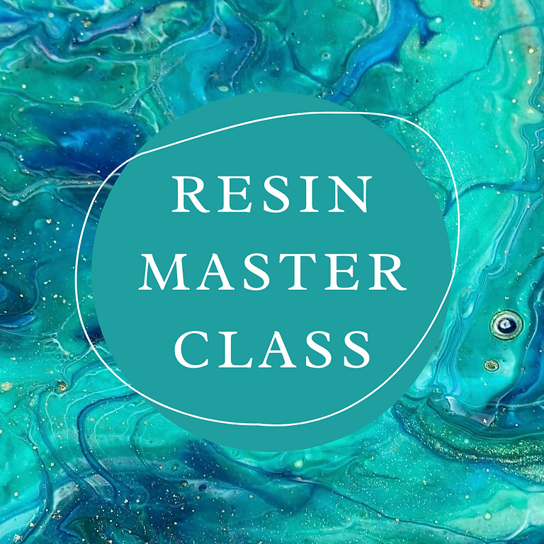 STUDIO - JAANA - Resin Master Class - Contained, Covered, Cast