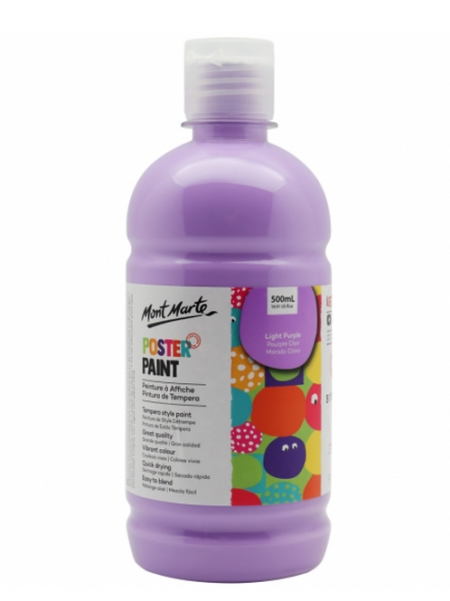 Poster Paint 500ml - Light Purple