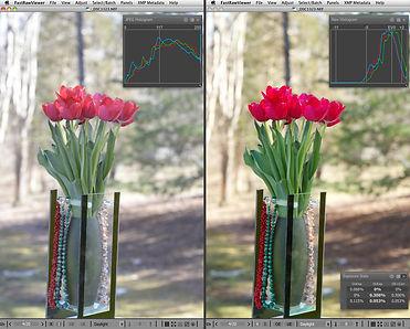 Retouching photos