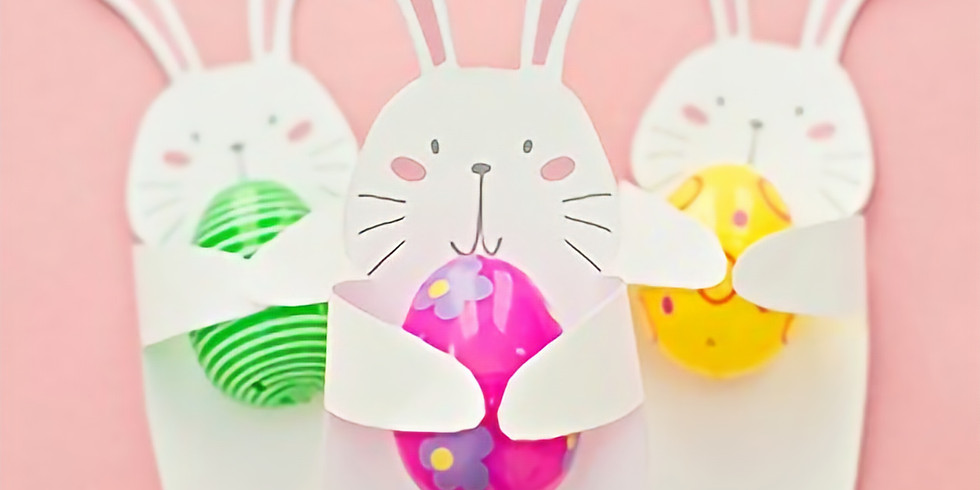 SCHOOL HOLIDAYS - STUDIO -  Learn to make easter bunny decorations