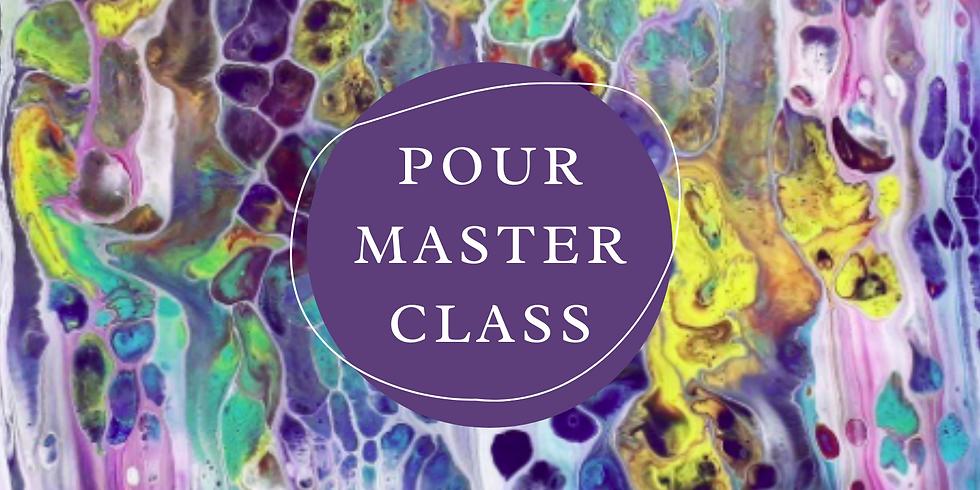 STUDIO - Paint Pour Master Class