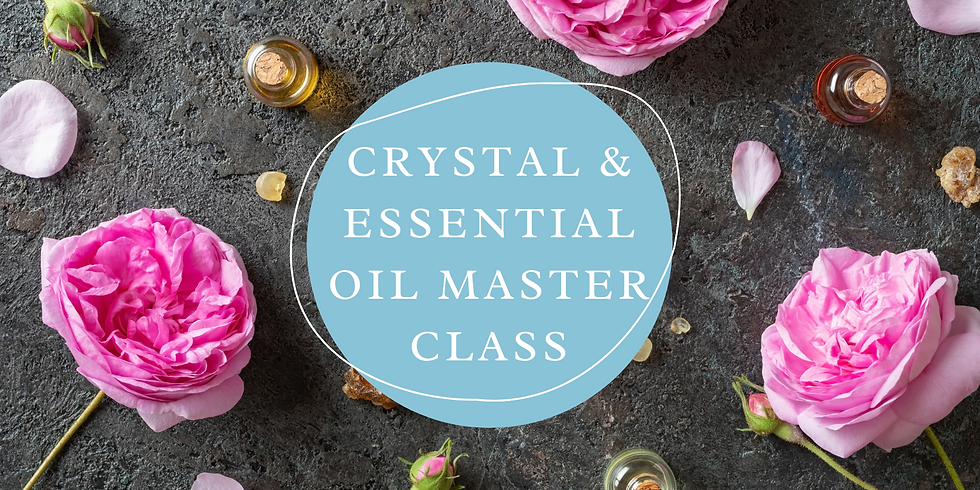 STUDIO - KAYLA - Love Theamed Essential Oil and Crystal Master Class