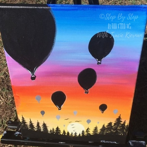 Learn to paint 'Balloons' - Tutorial Only