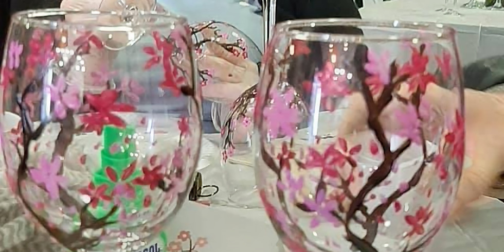 Fernvale - Learn to paint wine glasses!