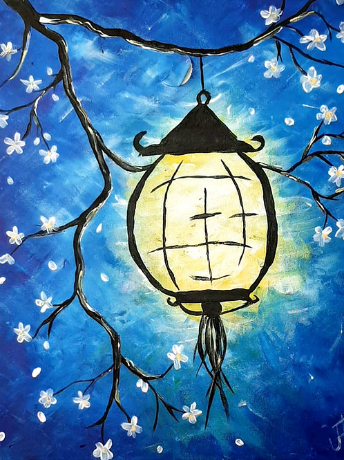 Learn to Paint Lantern 'Paint at home Pack'
