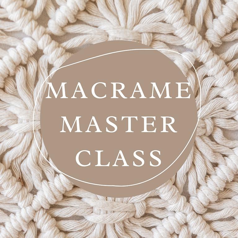 STUDIO - DESIREE - Macrame Master Class