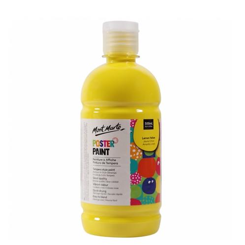 Poster Paint 500ml - Lemon Yellow