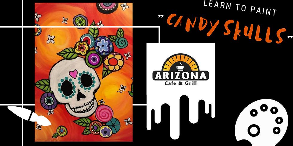 Lets paint  - 'Candy Skulls'
