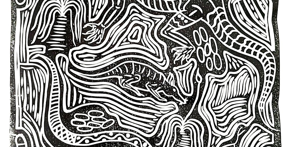 STUDIO - Learn to make modern aboriginal prints