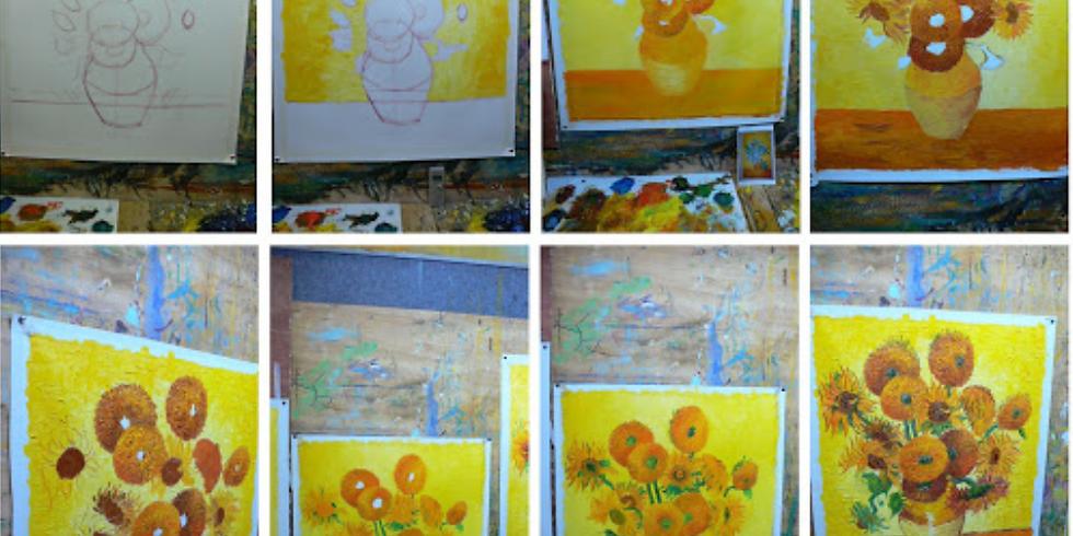 Studio - School Holidays - Learn to Paint 'Sunflowers'