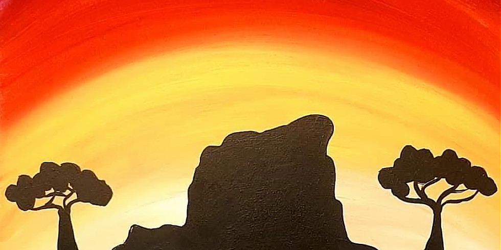 REDBANK PLAINS - ARIZONA CAFE - Learn to paint 'White Rock, Ipswich'
