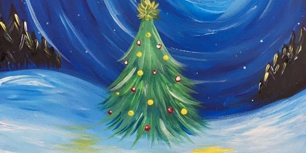 KENMORE - FIORI - Learn to Sip + Paint 'XMAS'