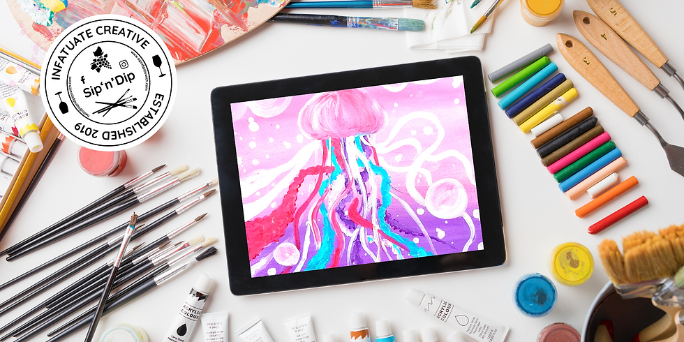 ORION - Learn to paint Jellyfish 2.0