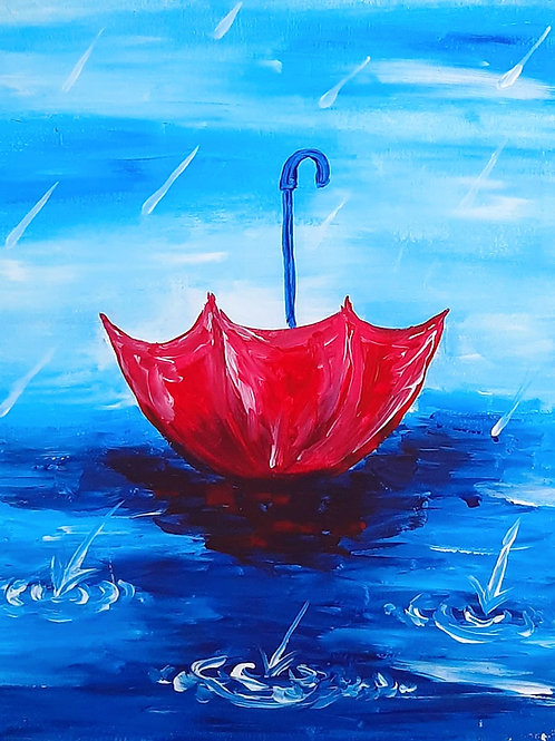Learn to Paint Rainy Day 'Paint at home Pack'