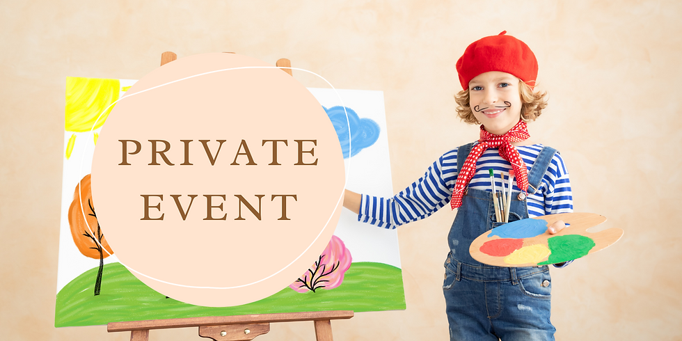 PRIVATE EVENT - FERNVALE (Booked by Lauren Medek)
