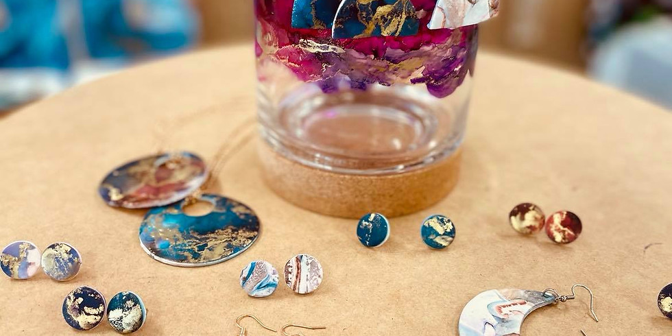 SPRINGFIELD - Orion -  Learn to make polymer clay and alcohol ink earrings!