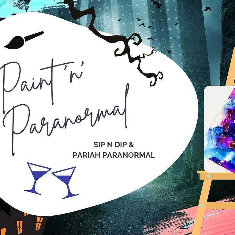 IPSWICH - JETS - Paint 'n' Paranormal Event