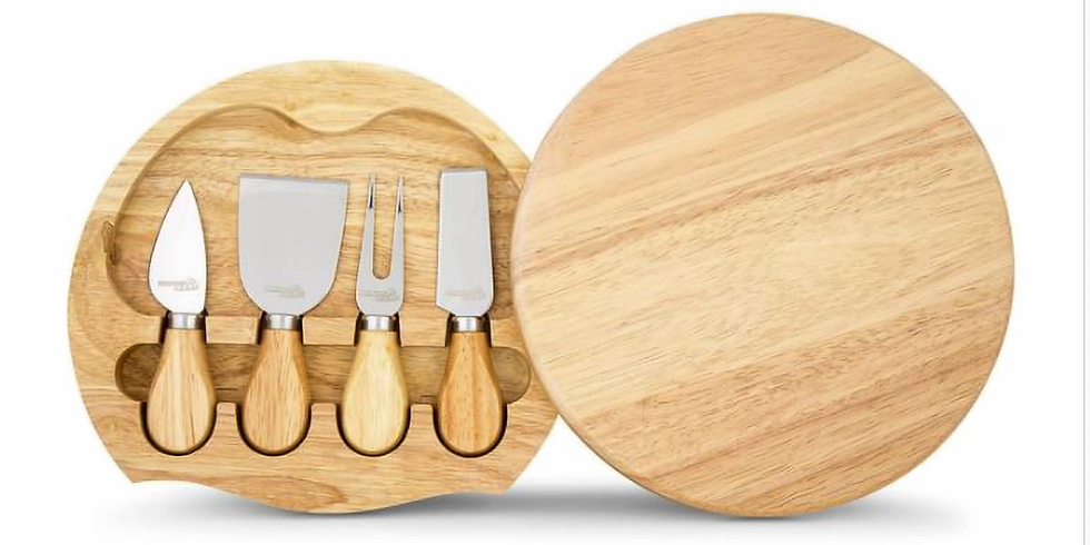 STUDIO - Resin - Learn to make a mini cheeseboard and 5pc knift set