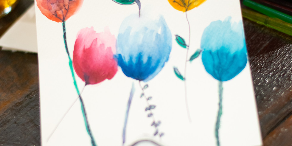 Home School - Learn to paint with Watercolour