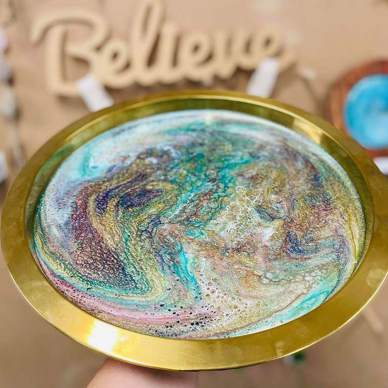 TOOWOOMBA - Learn to sip and resin with us - Resin Tray