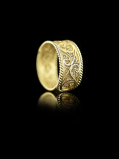Anel Ouro Pure Filigree