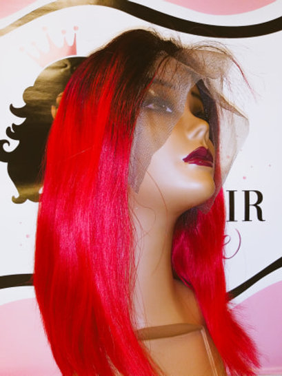 """Ruby Red Wig 14"""""""