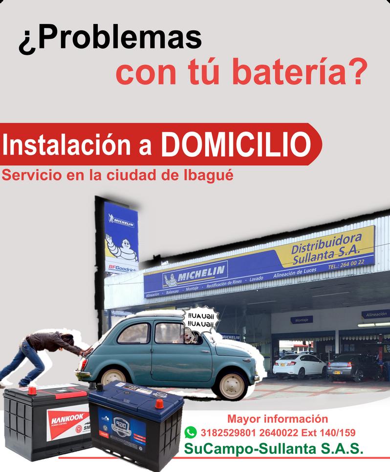 Baterias a Domicilio