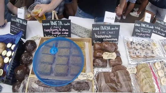 Hove Monthly Market Stall