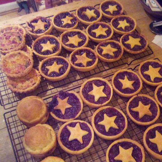 festive tarts