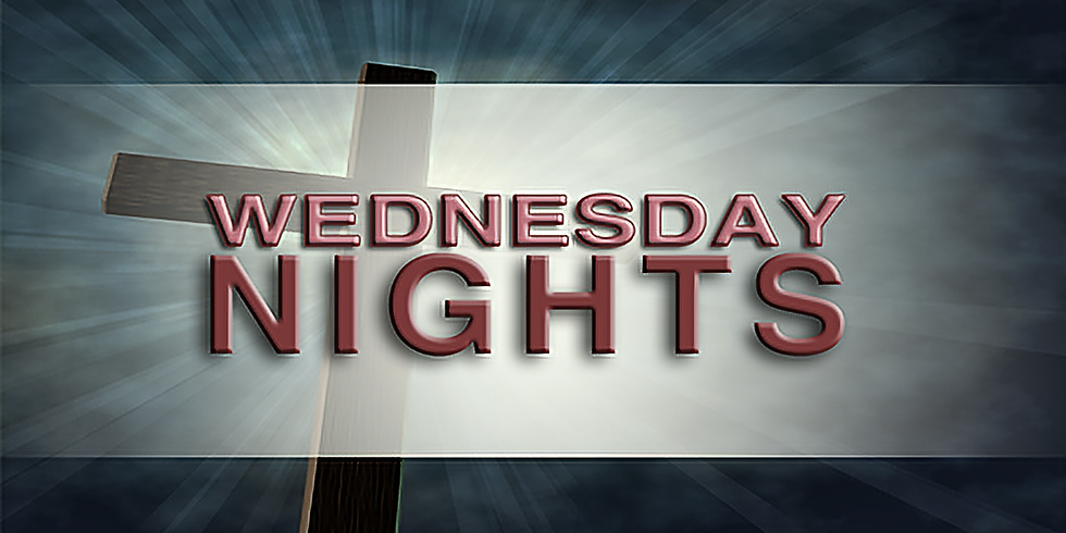 Wednesday Night Activities (for Children, Youth and Adults)