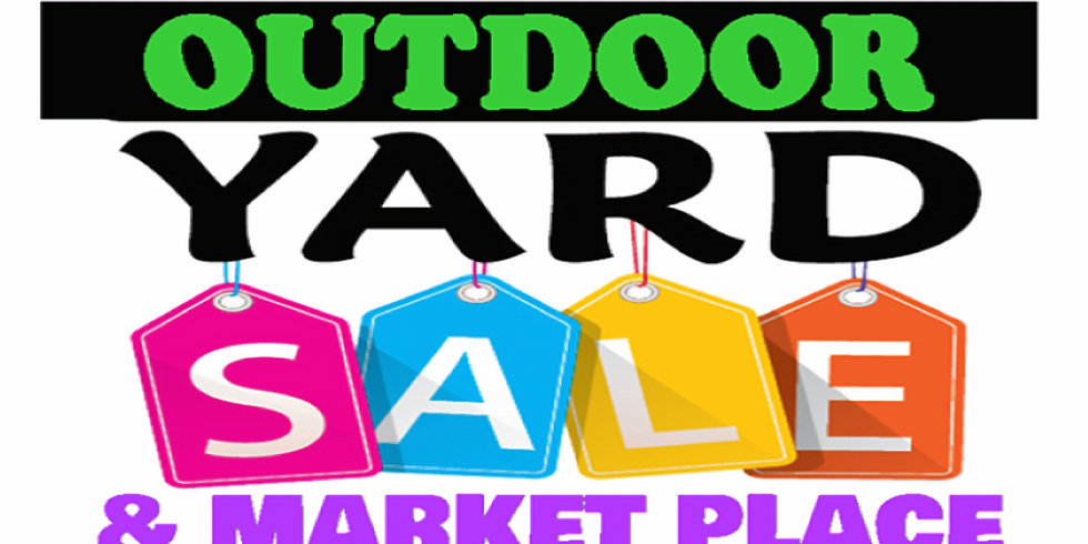 Crossroads Church Annual Outdoor Yard Sale & Marketplace October 10th