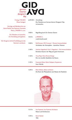 """Premiere des """"German Interior Designers' Day"""""""