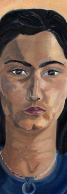 Oil Painting, Self Portait