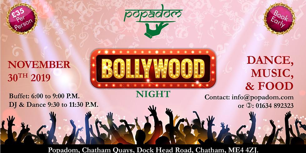 Bollywood Night         30th November