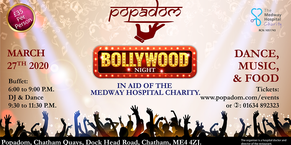 The Medway Hospital Charity Bollywood Night