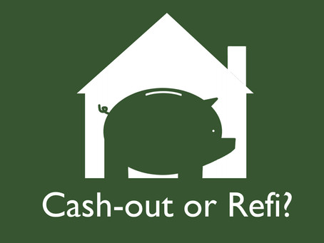 What is the difference between a Cash-out and Refi?